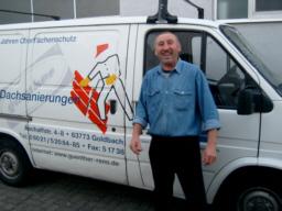 Alexander Hansen Aufgabenbereiche: - Ziegeldachreinigung - Ziegeldachbeschichtung - Flachdachsanierung Im Betrieb seit Februar 2001.