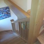 Holztreppe, Eiche rustikal