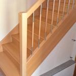 Treppe Buche komplett