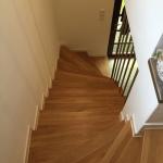 Treppe Kunstein - nachher